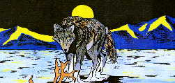 Wolf Art by Lawrence Dean Charlie